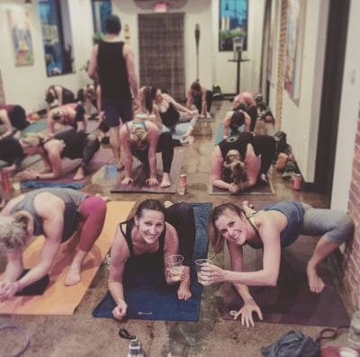 Yoga and Beer at the Oxbow with Latitude 44